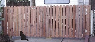 How to Build a Simple Wood Gate