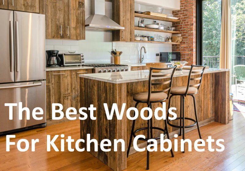 Best woods for kitchen cabinets