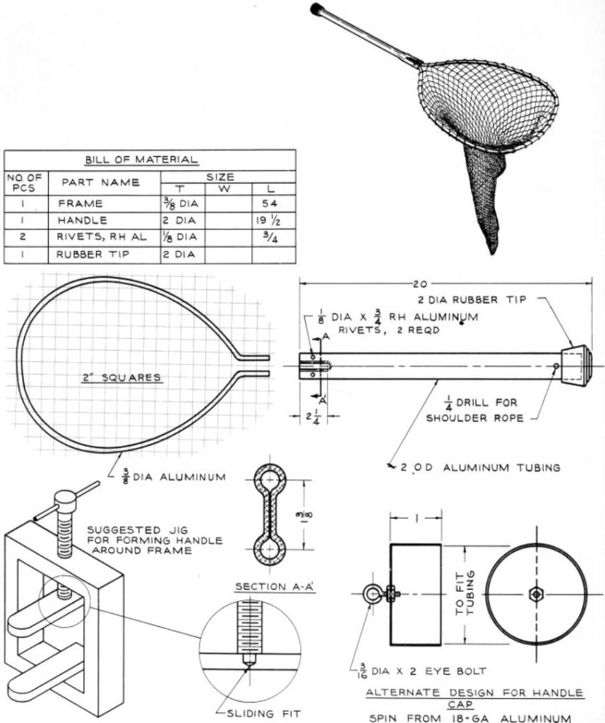 Fishing Net Metal Shop Plans