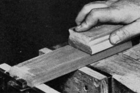 Sanding Wood - How to Sand a Surface