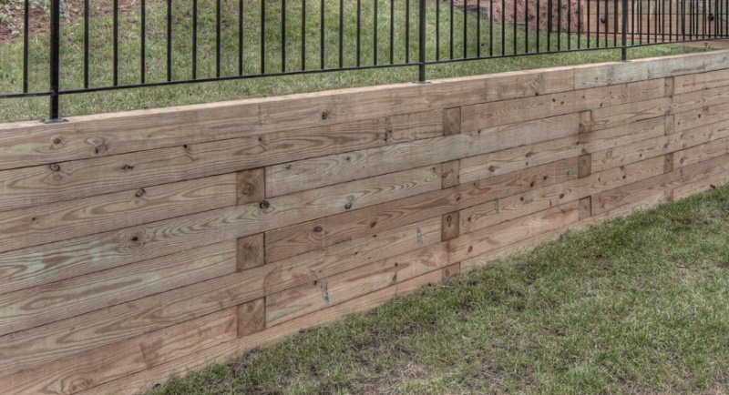 Best Wood to Use For Retaining Walls